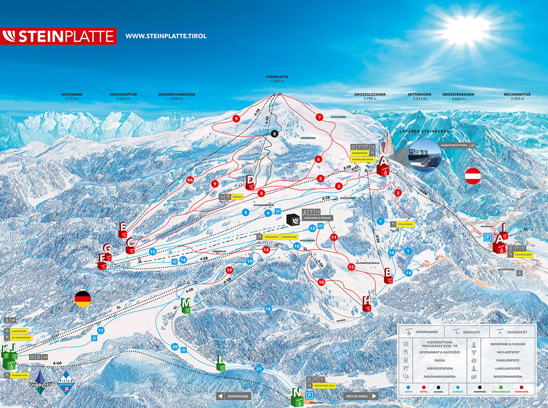 Skischule Waidring Steinplatte - SNOWSPORTS - BERGFEX