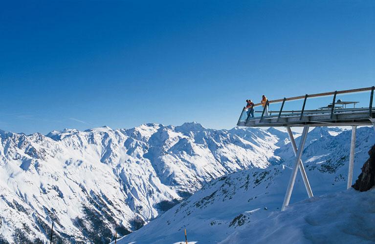 Wetterstationen im Skigebiet von Slden Tirol sterreich
