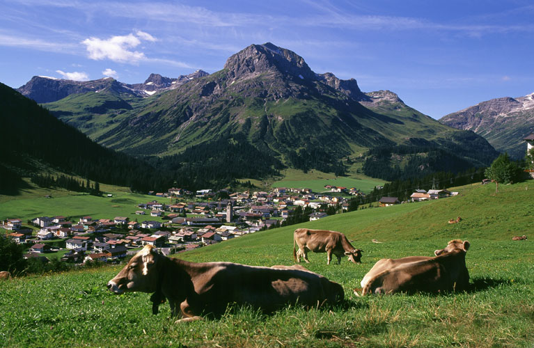 Webcam In Lech Am Arlberg Live Cam
